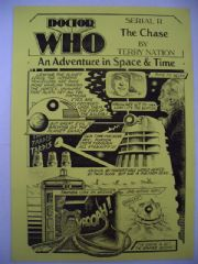 Doctor Who The Chase CMS In-Vision RARE Dalek